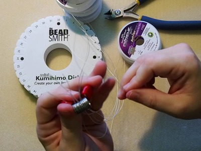 DIY Episode 10: Use Soft Flex® Beading Wire On A Kumihimo Disk To Make Jewelry