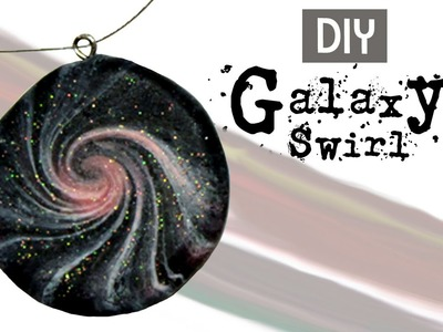 DIY Polymer Clay Galaxy Swirl Technique