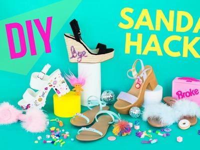 DIY Summer Sandal Hacks!