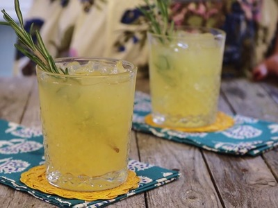 Drink Recipes - How to Make Spicy Lemon Ginger Switchels