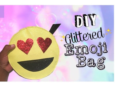 Heart Eyes Emoji Purse DIY