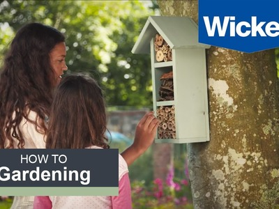How to Build a Bee Hotel with Wickes