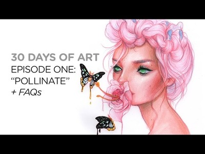 How to come up with ideas || 30 Days of Art Episode 1