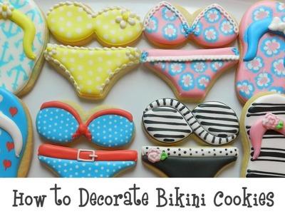 How to Decorate Bikini Cookies