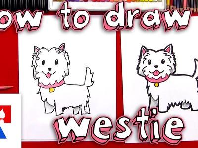 How To Draw A Cartoon Westie