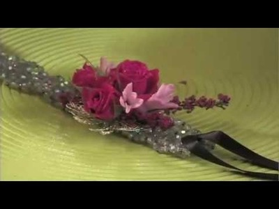 How to Glue a Flower Armband for a Guy!