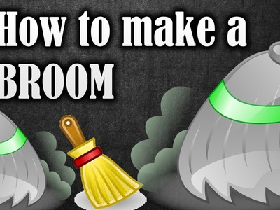 How to make a broom from plastic bottles. soda bottles