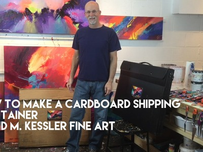 """""""How to Make a Cardboard Shipping Container"""" by David M. Kessler"""