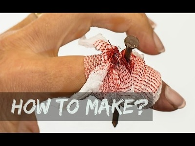 How To Make a Fake Wound Using Toothpaste?