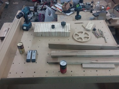 How to make a MCT(multi clamping table) workbench