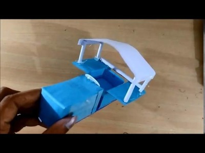 How to Make a Paper Tructor   Tractor Truck   toy for kids story games
