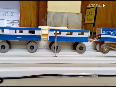 How to make a train complete project