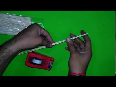 How to make Bamboo Sticks bow & arrow
