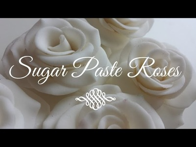 How to Make Gumpaste Sugar Roses (for Beginners)