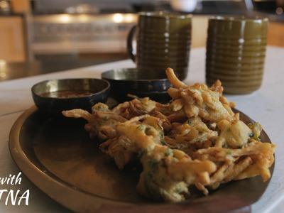 How to make Onion pakora.bhajji - Food with Chetna