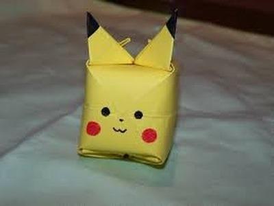 How To Make Pikachu | Pikachu Origami | Pokemon Go