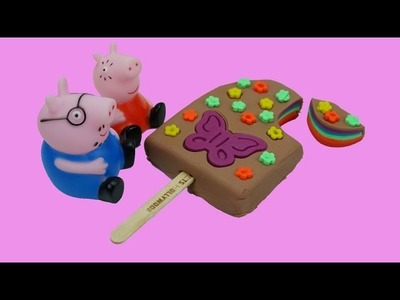 How to Make Play Doh Ice Cream Popsicles - Play Dough Art - Creative Fun for Kids