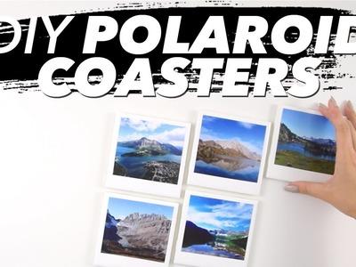 How to Make Polaroid Coasters! (Easy)
