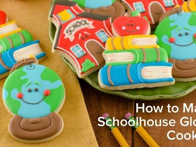 How to Make Schoolhouse Globe Cookies