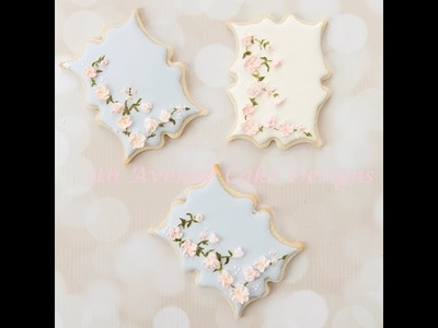 How to Make Vintage Floral Cookies