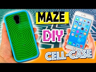 MAZE cell case * DIY foamy cell PHONE CASE with a MAZE