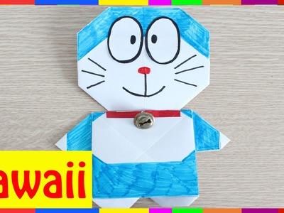 Origami Doraemon - How To Fold Doraemon ( Origami Hawaii )