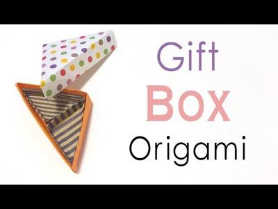 Origami Paper Triangular Gift Box Instruction ❤️ - Origami Kawaii〔#145〕