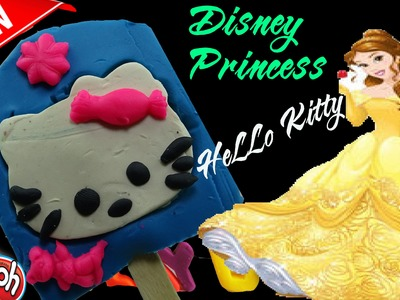 ▬►Play Doh Hello Kitty  Princess How To Make Play Doh Rainbow Ice Cream Fun and Creative for Kids