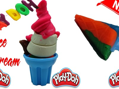 ▬►Play Doh Ice cream cupcakes playset playdough Fun Creative & How to Make Play Doh Ice Cream