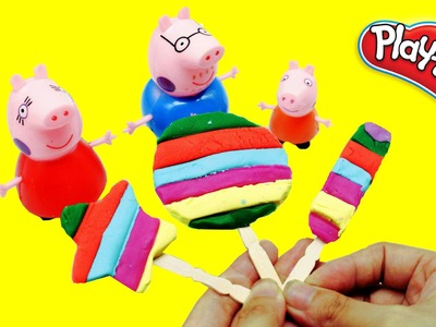 PLAY DOH ICE CREAM || Peppa Pig Play Doh || How to make a ice cream n2toys