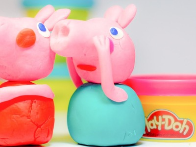 Play Doh Peppa Pig Family - HOw To Make Peppa Pig Family Members ! Doh Videos [HD Play DOH]