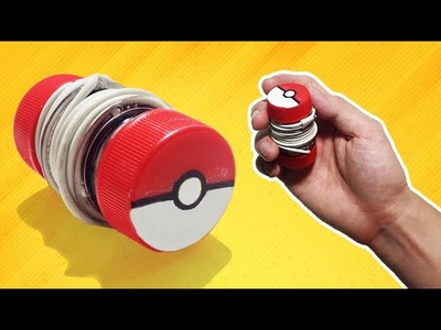 Pokemon Go - How to make Earphone Holder Pokeball - Tutorial
