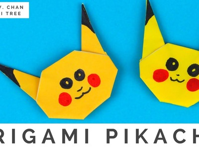Pokémon Origami Crafts - How to Fold Origami Pikachu Pokémon Go - Easy Origami Instructions for Kids
