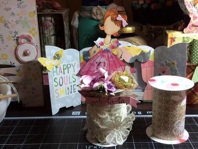 Prima Doll Paper Spool