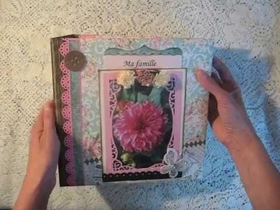 Scrapbook Not-so-mini Album DCWV Primrose Stack