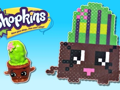 Shopkins Challenge - Prickles - How To Make DIY Shopkins Crafts out of Perler Beads with DCTC