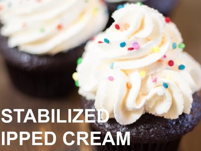 Stabilized Whipped Cream Frosting | How to make it with cake decorator Jennifer Shea