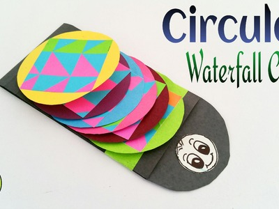 "Tutorial to make Paper ""Circular Waterfall card 