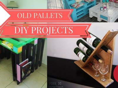 28 Amazing DIY Projects For Old Pallets