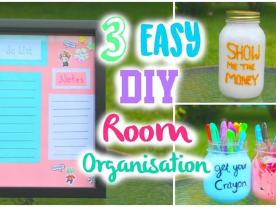 3 EASY DIY Room Organization (Kpop Inspired)