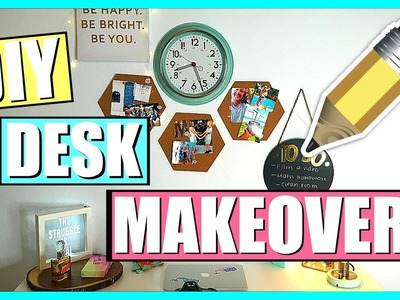 Back To School DIY Desk Makeover!