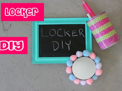 Back to School: DIY Locker Decor
