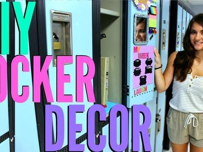 BACK TO SCHOOL: LOCKER DECORATIONS + DIY LOCKER DECOR