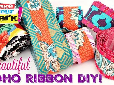 Beautiful Boho Ribbon DIY