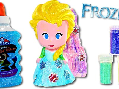 Disney Frozen Design a Vinyl Elsa Doll | Fun DIY Crafts for Kids with Amy Jo on DCTC
