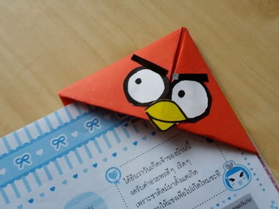 DIY Angry Birds Crafts - Easy Bookmarks