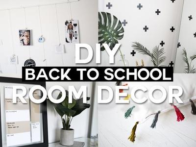 DIY Back to School Room Decor & Organization - Minimal & Affordable!
