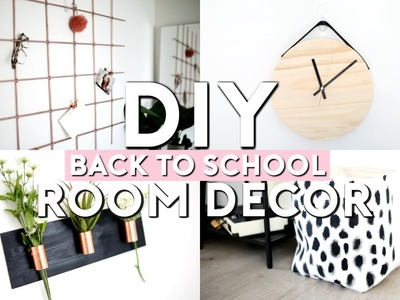 DIY Back To School Room Decor & Organization!