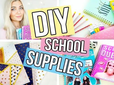 DIY Back To School Supplies | Quick & Easy
