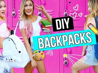 DIY Backpacks for Back to School 2016! | LaurDIY